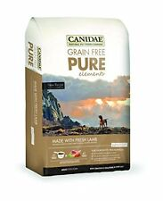 CANIDAE Grain Free PURE Elements Adult Dog Formula Made With Fresh Lamb, 4 lbs