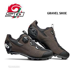NEW 2021 Sidi GRAVEL MTB Trail/Mountain Bike Shoes : BROWN - NEW in BOX!