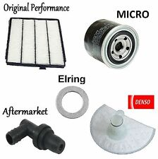 Tune Up Kit Cabin Air Oil Fuel Filters Gasket PCV Valve for Acura MDX 2001