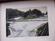 SUEDE/NORVEGE:Gravure 19°in folio couleur/ TROLLHATTAN