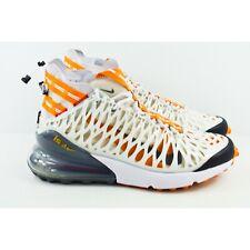 9ade694fa4c55 Nike Air Max 270 ISPA Mens Size 11.5 Running Shoes Ghost Aqua Amber BQ1918  102