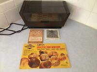 Vintage West Bend Mid Century 5114 See 'n Serve Electric Bun Warmer Instr. Works