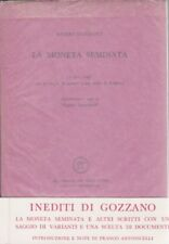 Guido Gozzano, La moneta seminata, All'insegna del pesce d'oro, poesia, 1968