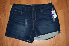 NWT Womens Seven 7 Barret Blue Denim Shorts Size 14 $49