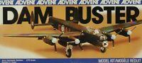 Advent 1:72 Dam Buster Avro Lancaster Bomber Plastic Model Kit #3413U2