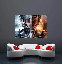 METAL GEAR RISING REVENGEANCE XBOX ONE PS4 PS3 GAME PC GIANT PRINT POSTER OZ1091