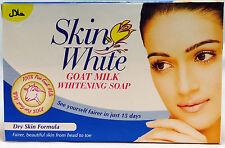 Skin White Whitening Soap New 100% Pure Goat Milk For DRY Skin Formula x 12 Soap