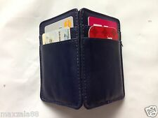 Magic Wallet Credit Card Id Money Clip Organizer Slim Card Holder Navy
