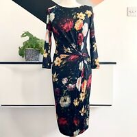 PHASE EIGHT Dress Size 10 FLORAL | SMART Occasion WEDDING Cruise RACES