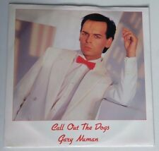 "Gary Numan, Call Out The Dogs 12"" Vinyl Record  Tubeway Army"