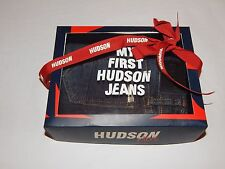 MY FIRST HUDSON JEANS PARKER STRAIGHT Jeans sz 12 months New NWT in Box