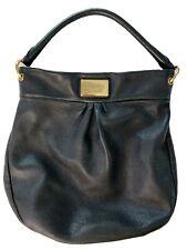 Marc Jacobs Hobo Black Tote Leather Handbag