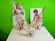 Lenox Classics - Shepherds of Bethlaham - Nativity Figurines Ivory 24kt Gold