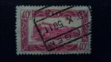 timbre chemin de fer locomotives  belgique 1949