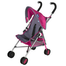 Chicco Junior Echo Stroller Push Chair Doll Pram Kids/Toddler Child 3y+ Toy Pink