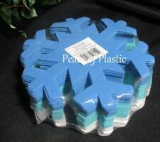 Creatology Crafts Christmas Noel SnowFlakes 32 Piece Blue & White Foam Shapes