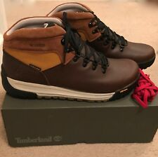 TIMBERLAND FOR JCREW GT SCRAMBLE HIKING BOOTS SIZE 8M BROWN J9290