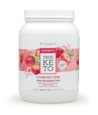 Youngevity True Keto Strawberry Créme Shake Slender FX Dr Wallach Free Shipping