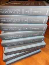 THE GROVE DICTIONARY OF AMERICAN MUSIC OXFORD 2nd Edition 8 VOLUME BOOK SET NEW