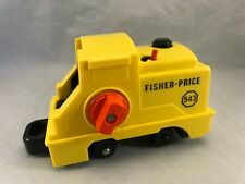 Vintage Fisher Price Little People Lift & Load Railroad Train Engine 943 Only