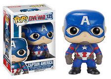 Funko Pop Marvel Captain America Civil War Vinyl Bobble Figure #125