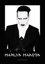 Marilyn Manson Proper large fabric poster / flag   1100mm x 750mm (hr)