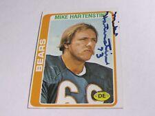 Mike Hartenstine Autographed Card JSA Auction Certified