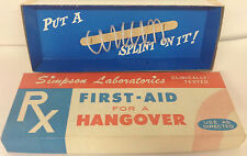 First-Aid For A Hangover Put A Penis Splint On It Joke Gag Birthday Gift
