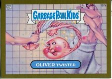 Garbage Pail Kids Mini Cards 2013 Gold Parallel Base Card 107a OLIVER Twisted