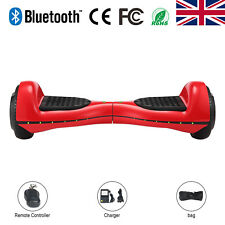"6,5"" Bluetooth Hoverboard E-Scooters Self-Balancing Red Electric Scooter + LED"