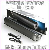 SOUNDBAR SPEAKERS Website Earn $120.04 A SALE|FREE Domain|FREE Hosting|Traffic