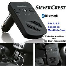 Bluetooth Freisprecheinrichtung Silvercrest Auto Wireless Freisprech Anlage NEU