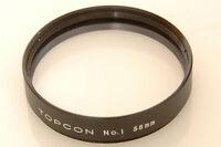 TOPCON, TOPCOR 58MM NO.1 CLOSE-UP, MACRO, MAKRO FILTER, LENS.
