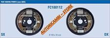 FC180112 KIT GANASCE FRENO COMPLETO FIAT PUNTO II CON ABS 1.2 8V 16V METANO