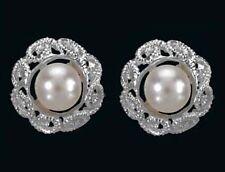 925 ECHT SILBER *** Perlen SW-Zuchtperlen Ohrstecker 11 mm
