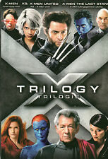X-Men Trilogy (DVD 3 MOVIES ) X- MEN, X-MEN 2 & X-MEN THE LAST STAND.