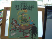 TINTIN LES 7 BOULES DE CRISTAL BROCHE 1999 TOTAL 6 PAGES SUPPLEMENTAIRES BE/TBE