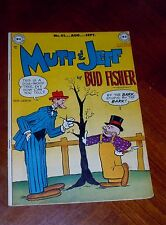 MUTT AND JEFF #41 (1949) F-VF cond. BUD FISHER