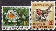 BUND Nr.274/75 Naturschutz 1957, gestempelt