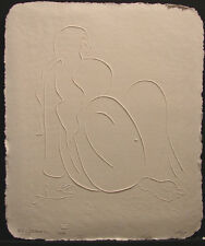 R.C. Gorman Kiana Paper Cast Embossing Art Signed Limited Ed SUBMIT OFFER