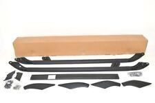 To Fit LR Freelander 2 2006 - 2014 Metal BLACK Roof Bar Roof Rails