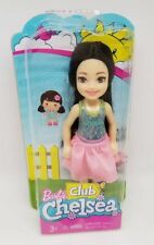 New In Box Package Barbie Club Chelsea Doll Asian Little Sister