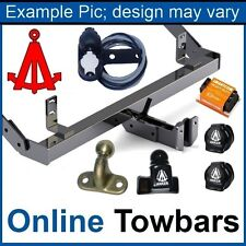 Fixed towbar swan neck Saab 9-5 SW Wagon estate 1998//2011 13-pin electric kit