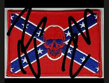 Edited pic to list. No black. Info in description. Rebel patch. Skull. Flag