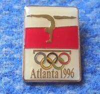 NOC POLAND OLYMPIC ATLANTA 1996 GYMNASTICS PIN BADGE