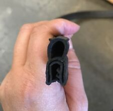 Rubber Seal Trim Door Rubber Edge Gasket All-weather Strip by liner foot