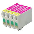 4 Light Magenta Ink Cartridges for Epson R200 R300 R330 R350 RX320 RX600 RX640