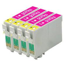 4 luce Magenta inchiostro cartucce per Epson R200 R300 R330 R350 RX320 RX600 RX640