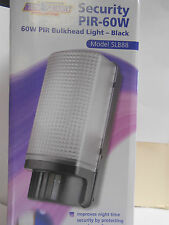 Timeguard Security light outdoor lamp PIR Bulkhead 60w SLB88 black