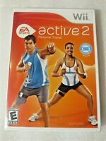 EA Sports Active 2 Personal Trainer (Nintendo Wii) Game ONLY Brand NEW Sealed